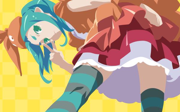 Anime Monogatari (Series) Yotsugi Ononoki Tsukimonogatari HD Wallpaper   Background Image