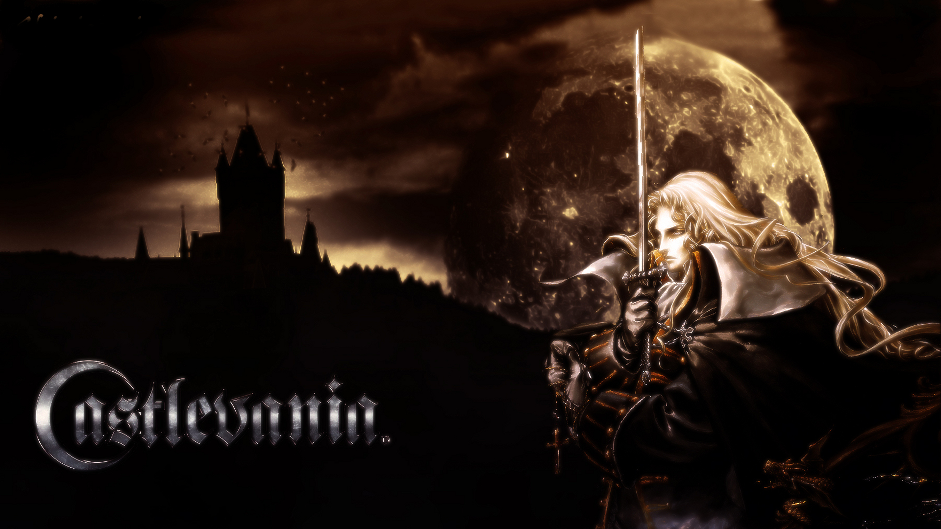 castlevania symphony of the night iphone wallpaper