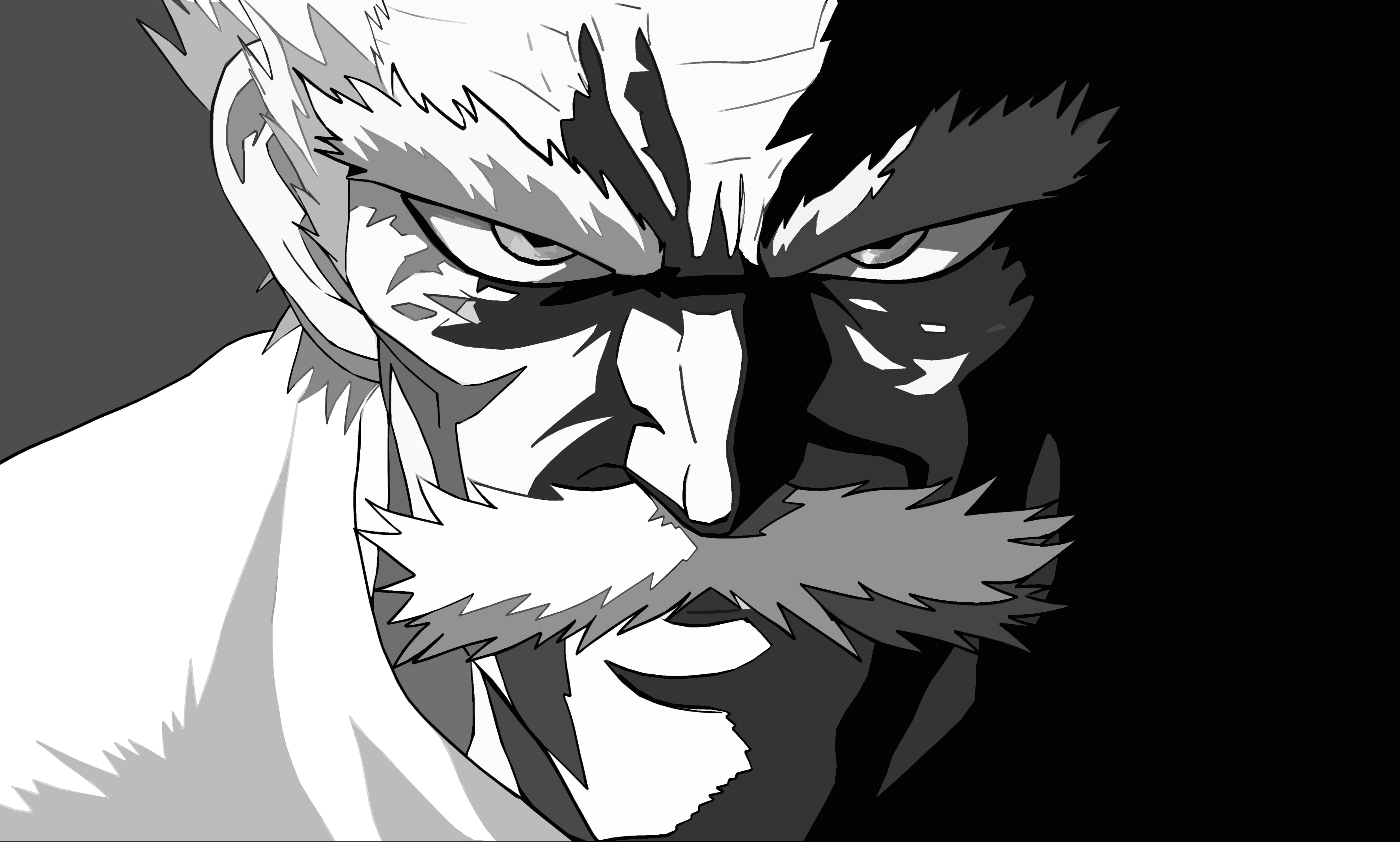 Wallpaper Silver Fang: One-Punch Man 4k Ultra HD Wallpaper And Background Image