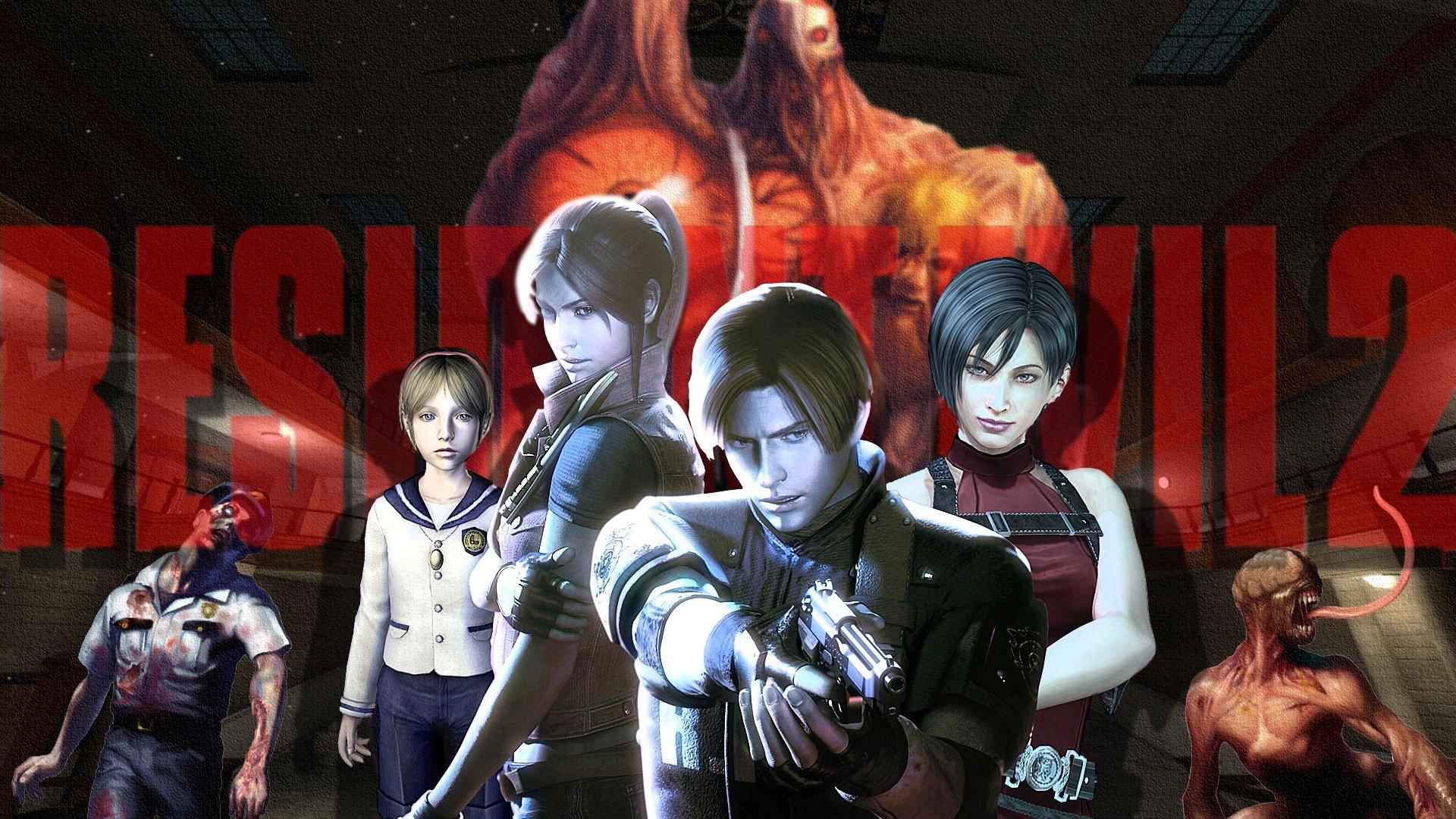 Resident Evil 2 Wallpaper: Resident Evil 2 HD Wallpaper