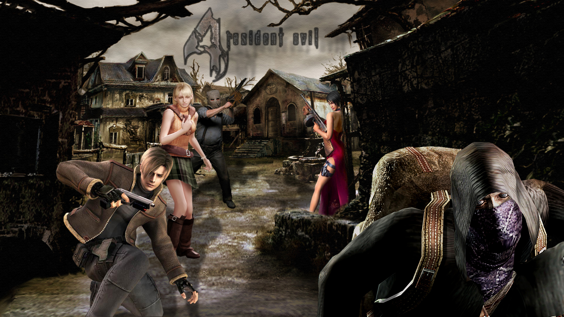 Resident Evil 4 Hd Wallpaper Background Image 1920x1080 Id 672729 Wallpaper Abyss