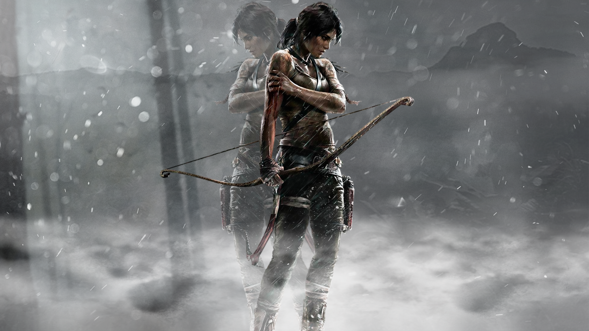 Rise Of The Tomb Raider Full HD Fond D'écran And Arrière
