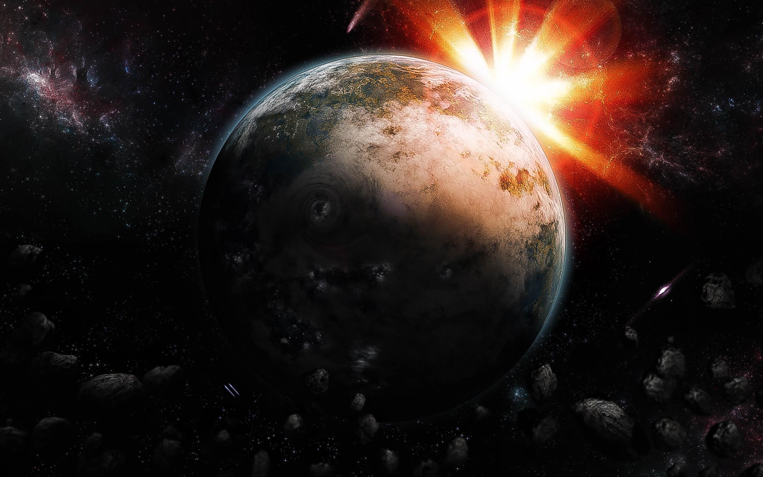 Обои sunrise, пространство. Космос foto 18