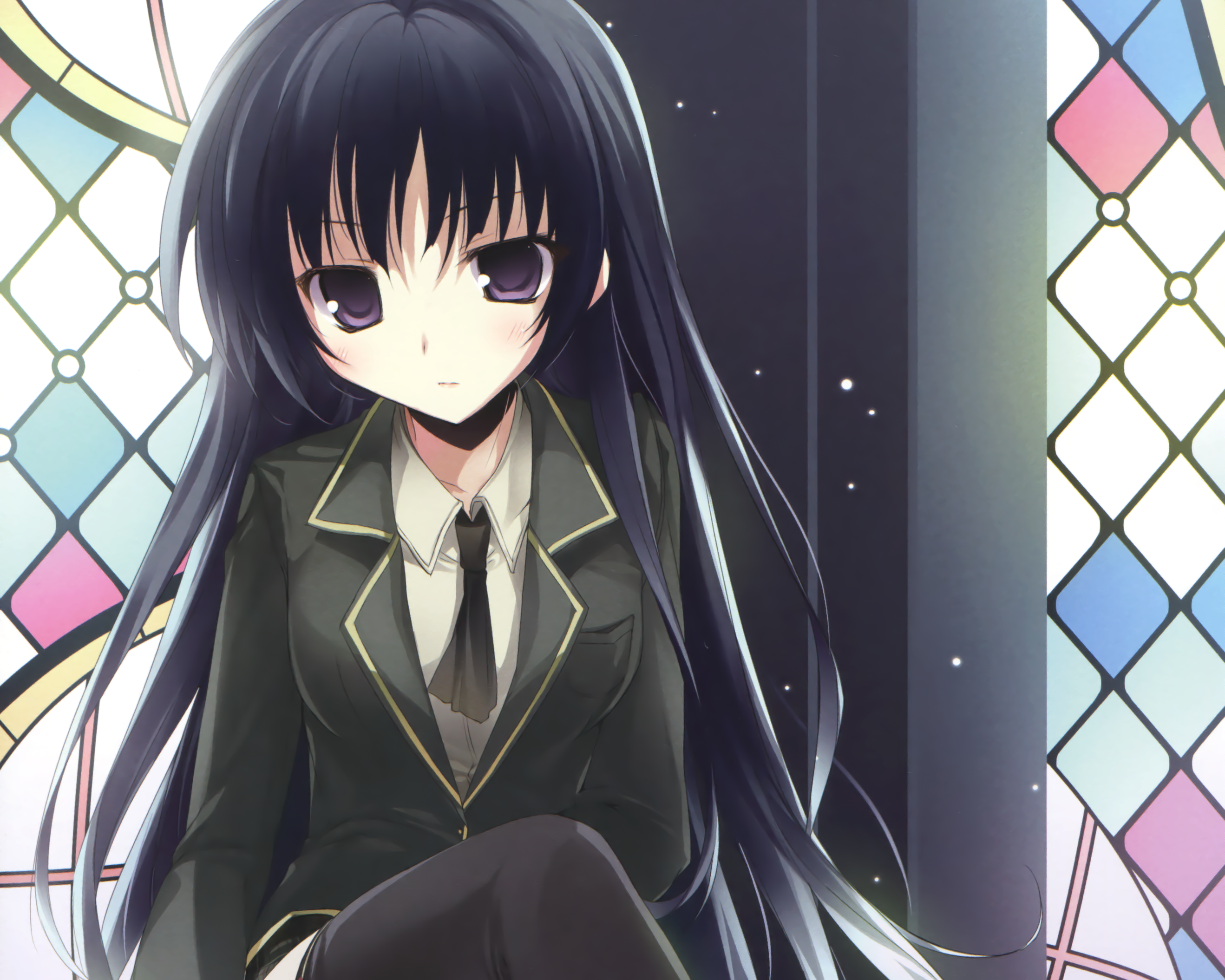 the gallery for gt anime neko girl with black hair and