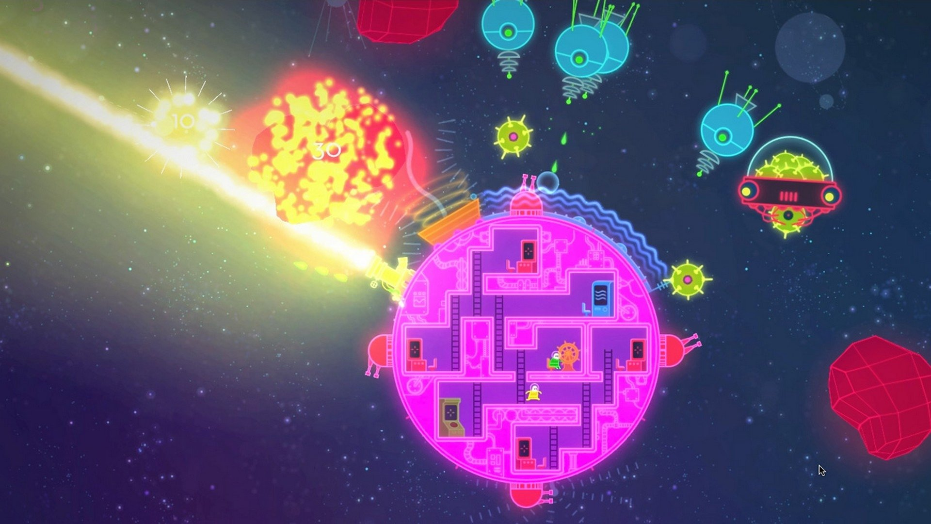 Lovers In A Dangerous Spacetime Hd Wallpaper Background Image