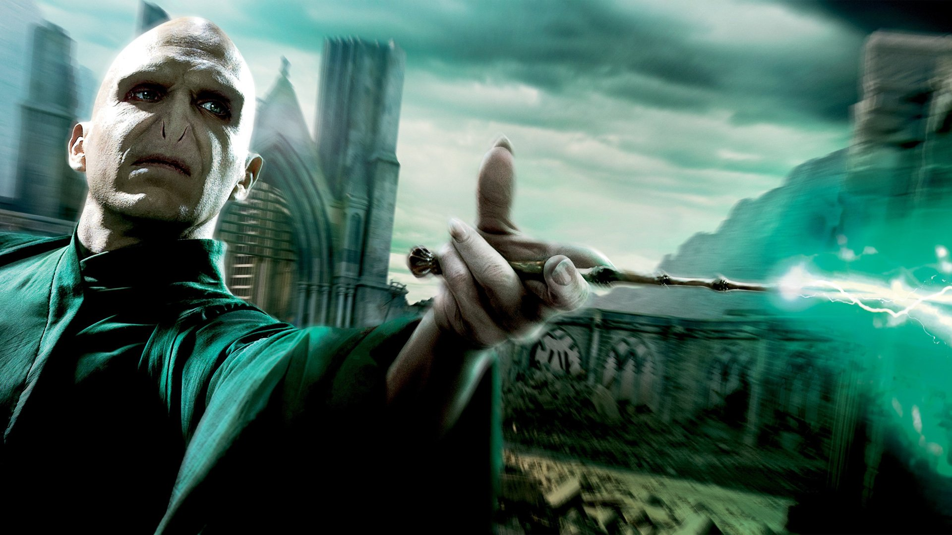 Harry Potter Y Las Reliquias De La Muerte Parte 2 Fondo De
