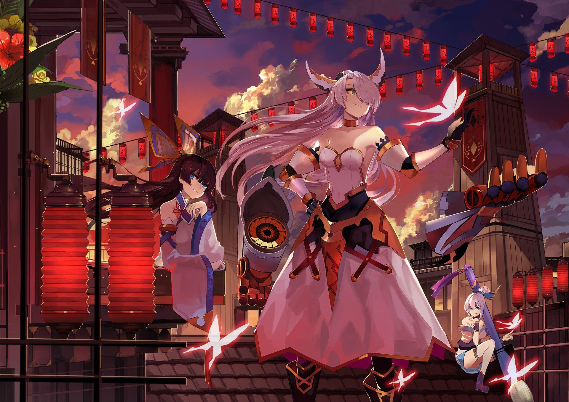 Anime Girls Fond D 233 Cran Hd Arri 232 Re Plan 1920x1358