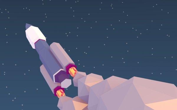 Sci Fi Rocket HD Wallpaper | Background Image