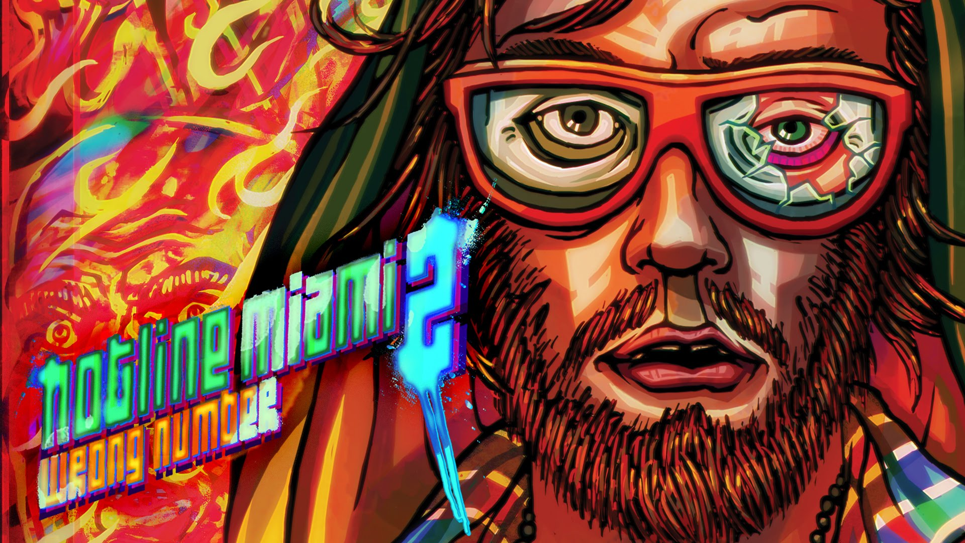 Hotline Miami Wallpaper 1920x1080: Hotline Miami 2: Wrong Number Full HD Wallpaper And