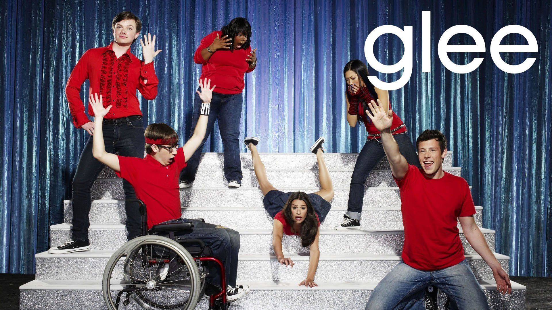 Glee full hd wallpaper and background image 1920x1080 id679970 tv show glee wallpaper voltagebd Image collections
