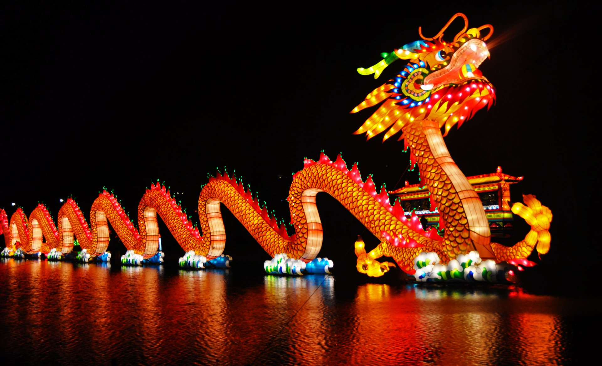 Holiday - Chinese New Year  Chinese Dragon Wallpaper