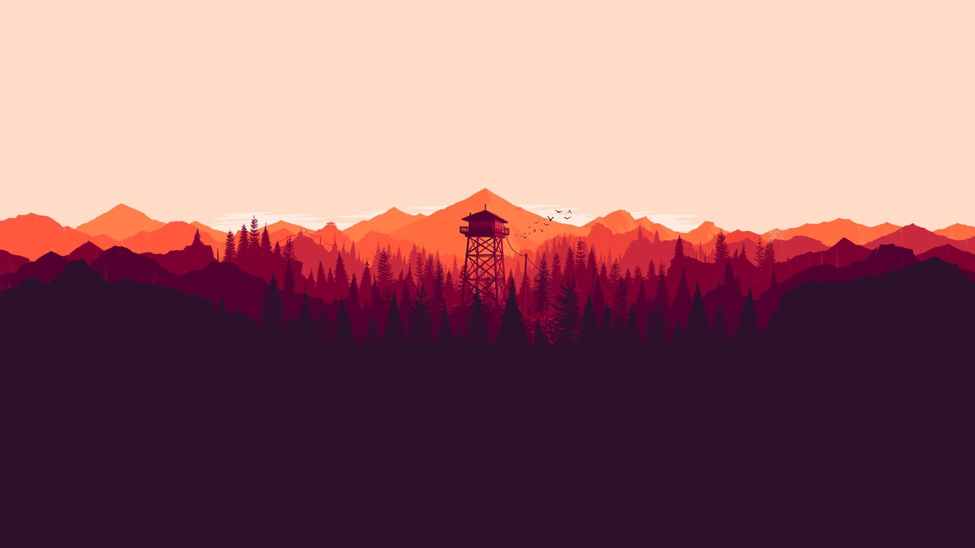 51 Firewatch Hd Wallpapers Background Images Wallpaper Abyss