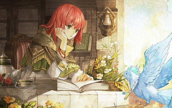 Anime Snow White with the Red Hair Shirayuki HD Wallpaper | Background Image
