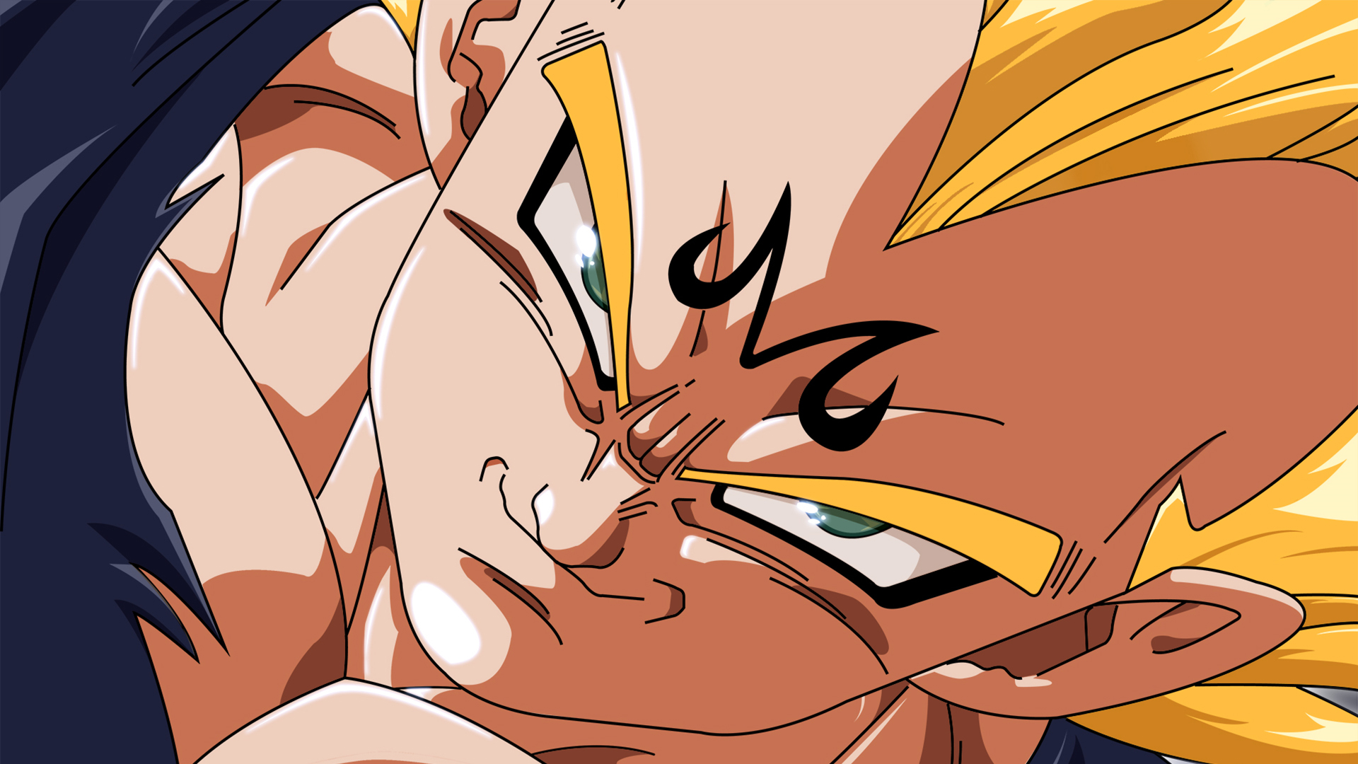 Majin vegeta face hd wallpaper background image 1920x1080 id 681229 wallpaper abyss - Dragon ball z majin vegeta wallpaper ...
