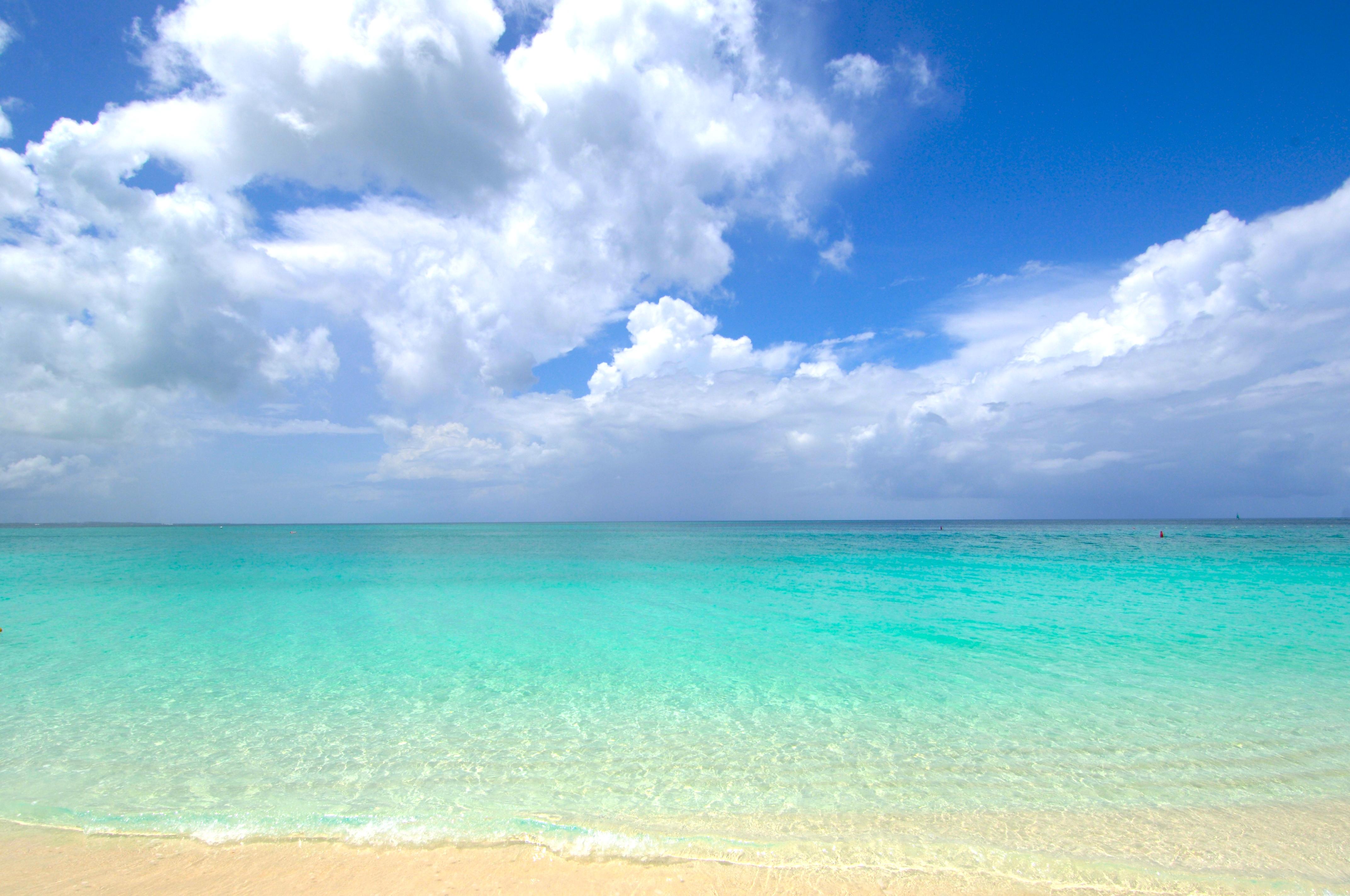 Beach Grace Bay Turks Caicos 4k Ultra Hd Wallpaper Earth