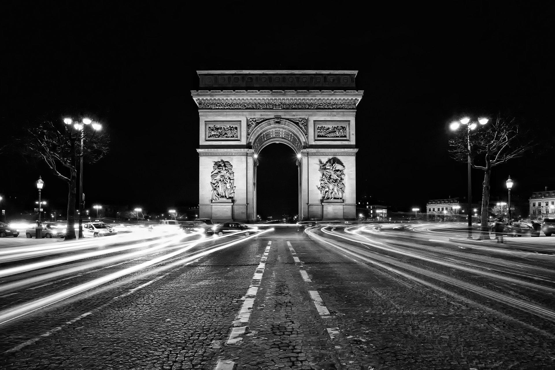 Arc De Triomphe 4k Ultra HD Wallpaper
