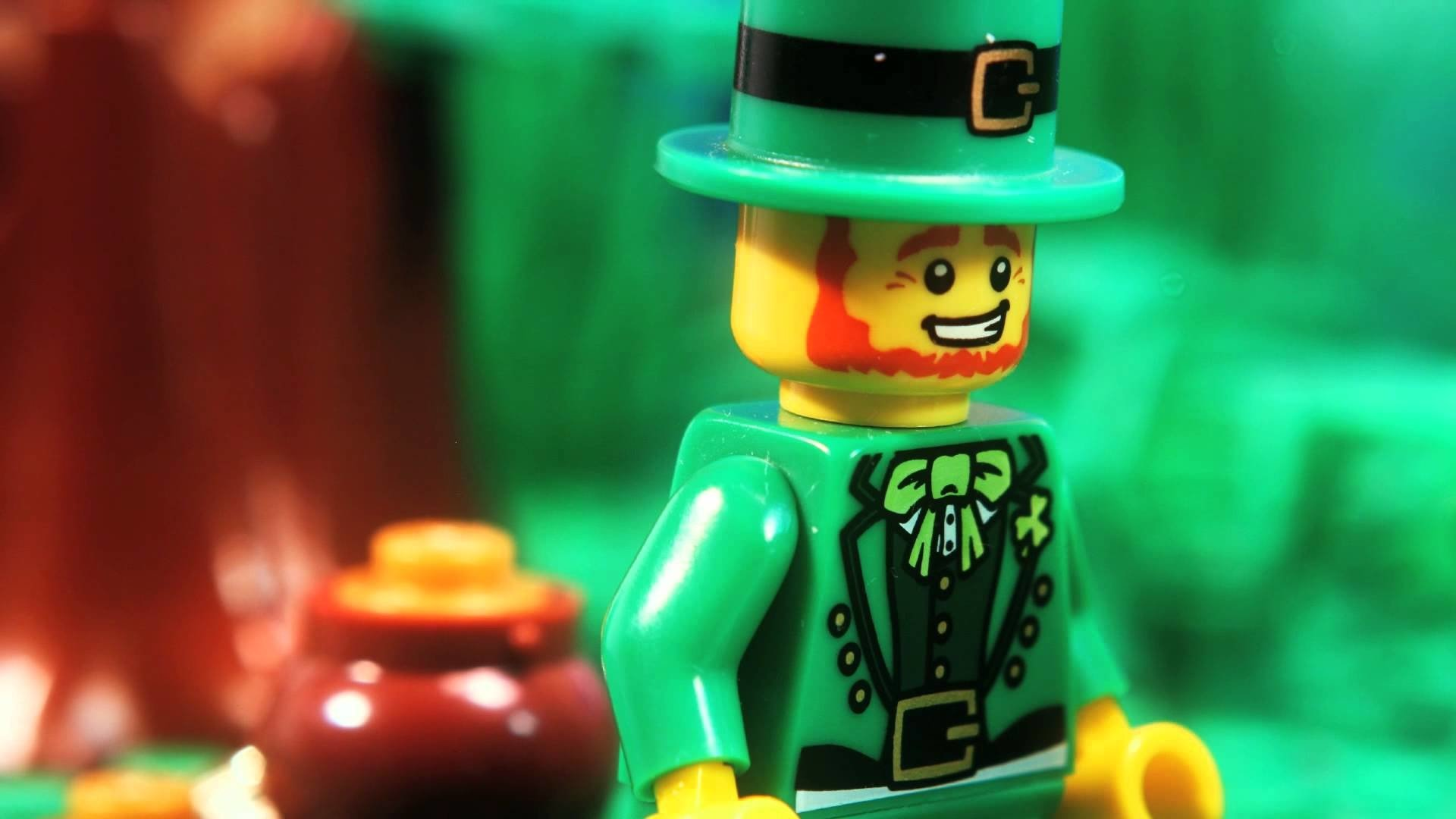 Holiday - St. Patrick's Day  Lego Wallpaper