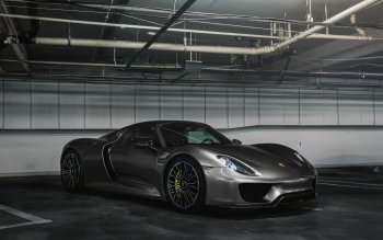 porsche 918 spyder black wallpaper. car porsche 918 spyder silver supercar vehicle hd wallpaper background id682698 black e