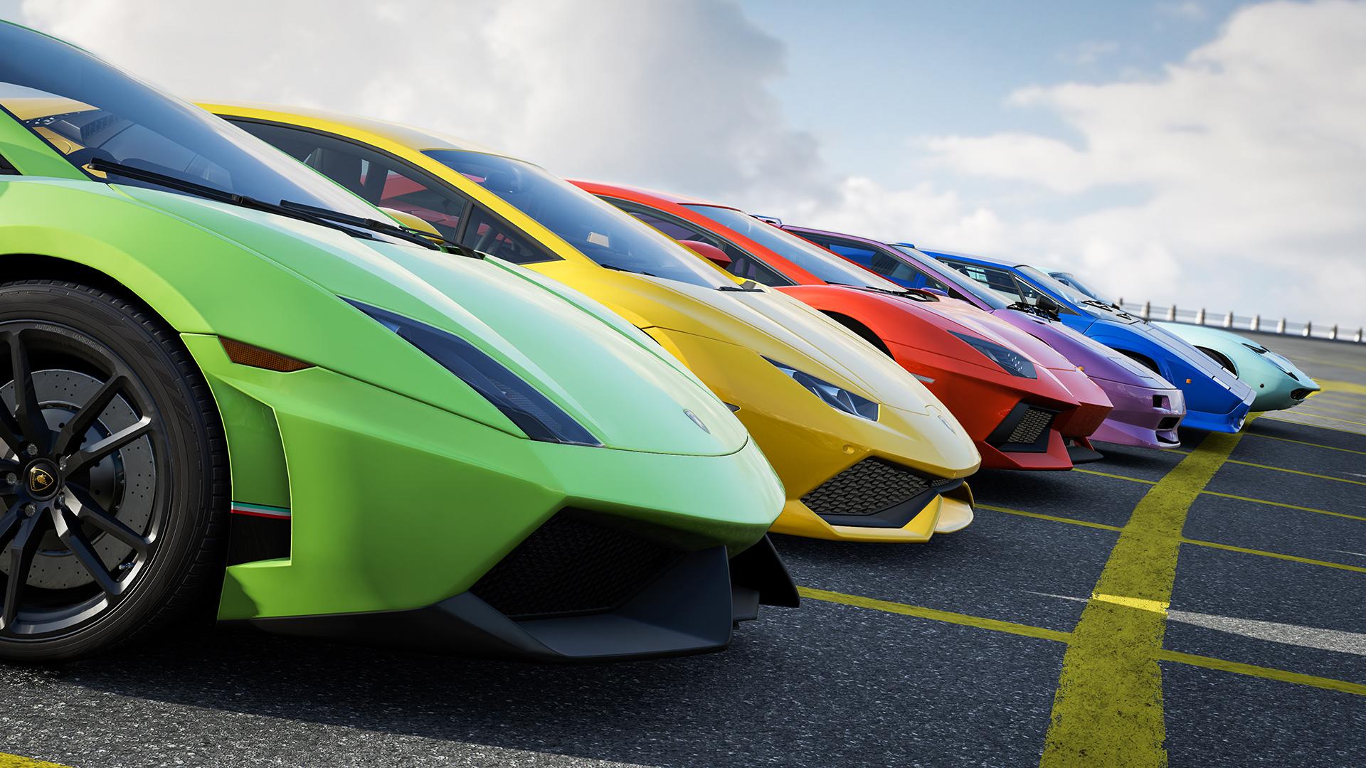 Lamborghinis HD Wallpaper