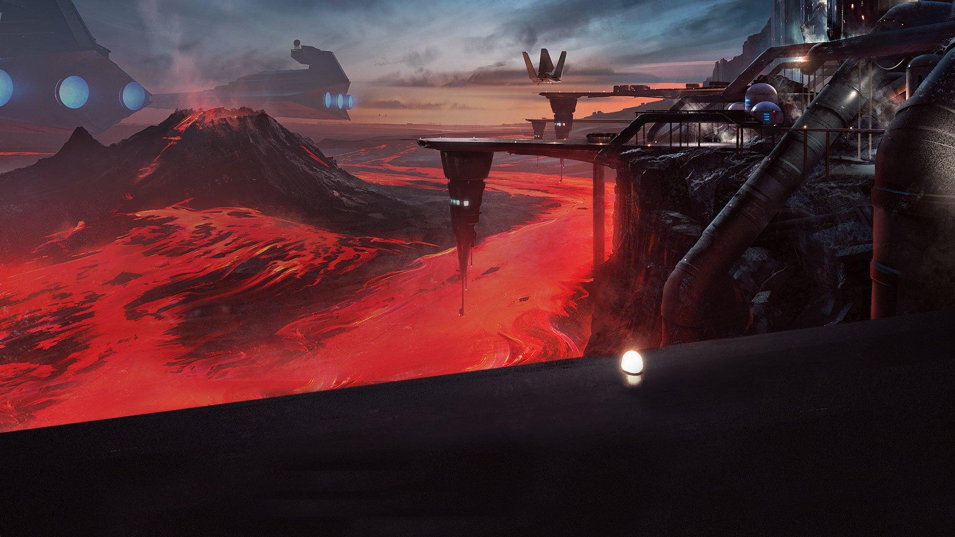 Star Wars Battlefront: Outer Rim DLC HD Wallpaper