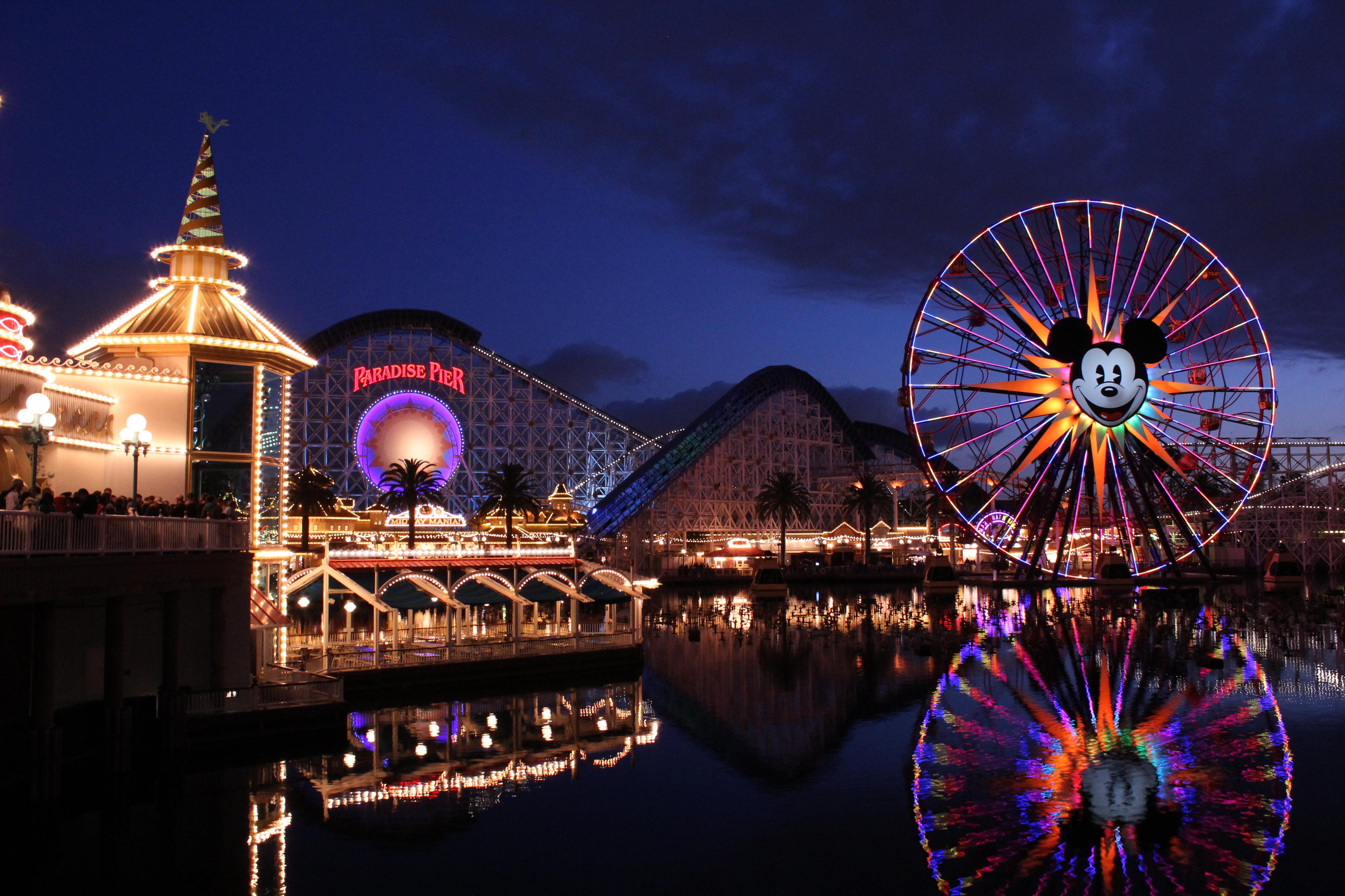 Disneyland 5k Retina Ultra Fondo De Pantalla Hd Fondo De