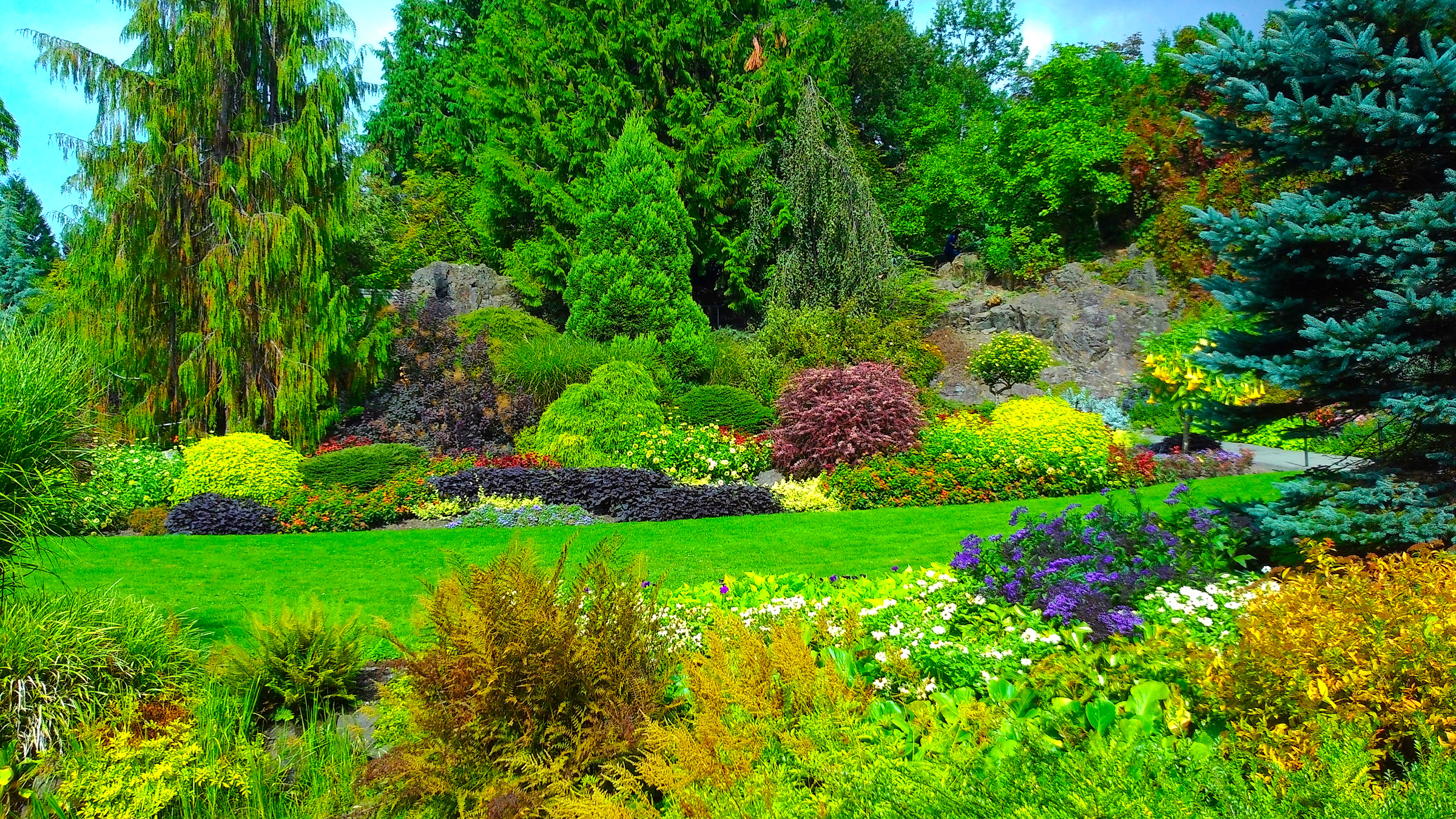 Queen Elizabeth Gardens In Canada HD Wallpaper