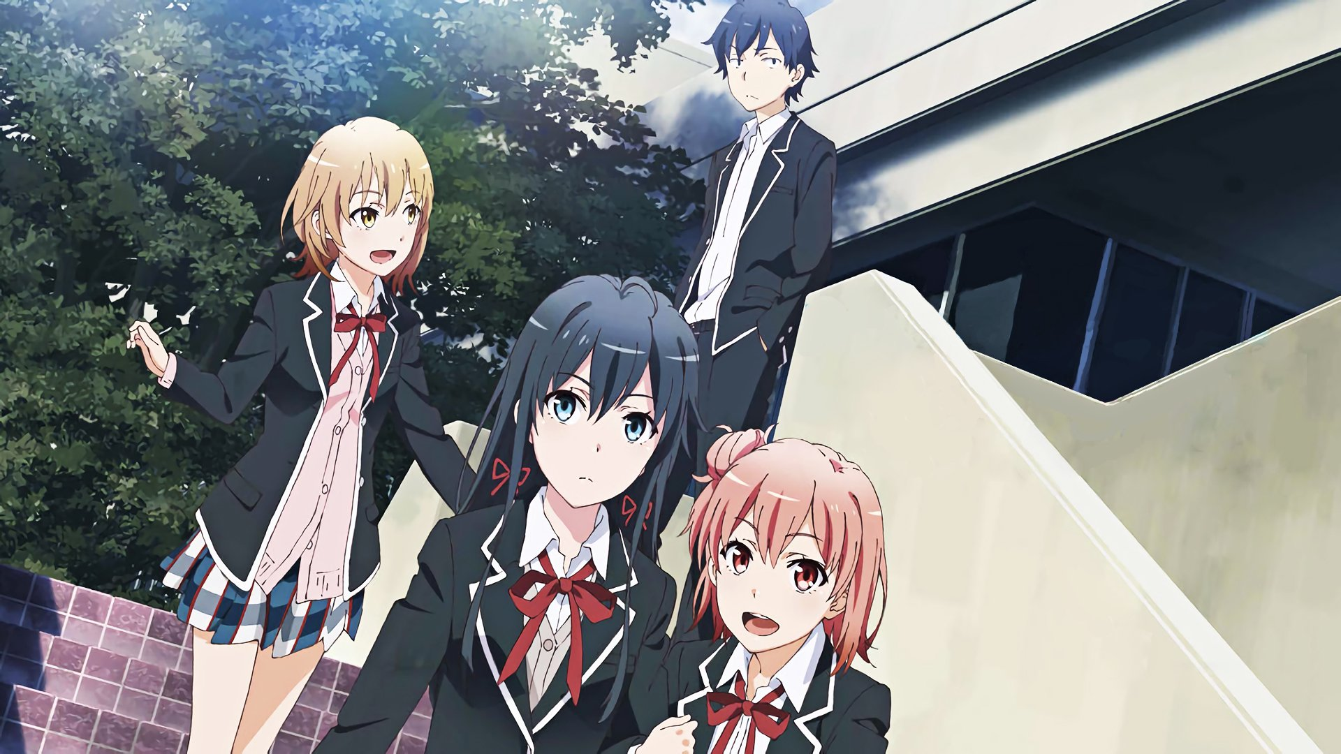 Love comedy Wallpaper : My Teen Romantic comedy SNAFU Full HD Wallpaper and Background 1920x1080 ID:685406
