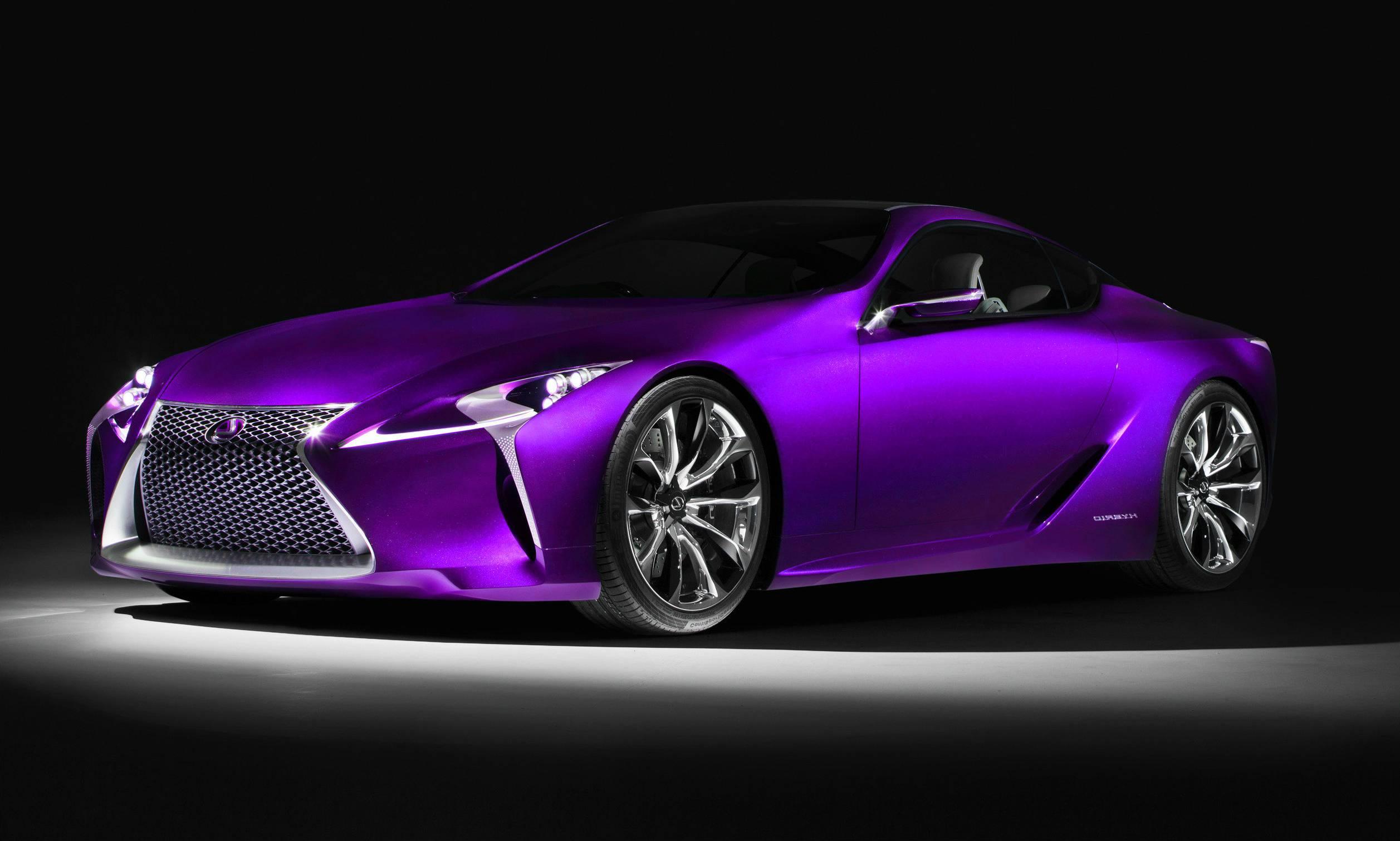 Purple Car Hd Wallpaper Background Image 2514x1511 Id 686599