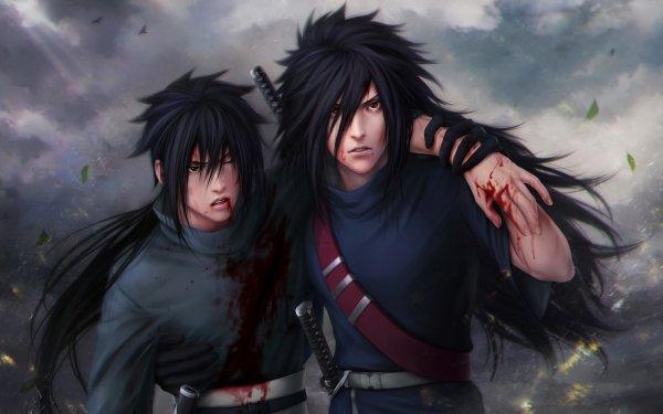 Anime Naruto Sasuke Uchiha Madara Uchiha Uchiha Clan HD Wallpaper   Background Image