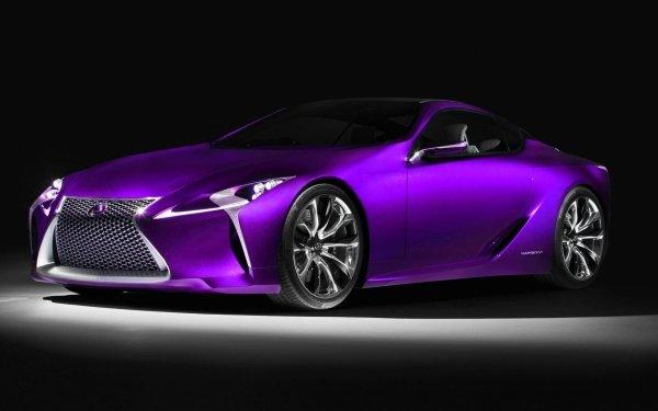 Véhicules Lexus Voiture Purple Car Fond d'écran HD | Image