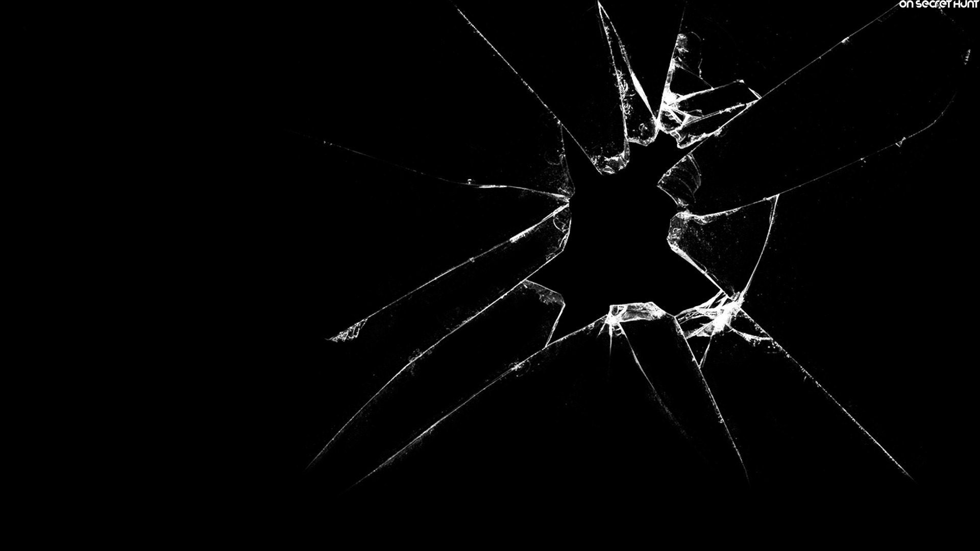 Cracked Screen Full HD Wallpaper And Background Image