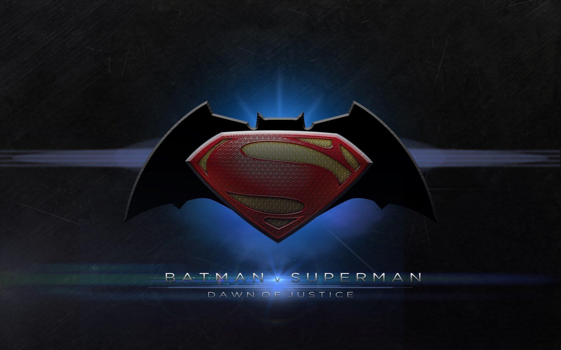 Movie - Batman v Superman: Dawn of Justice  Logo Symbol Batman Superman Movie Wallpaper
