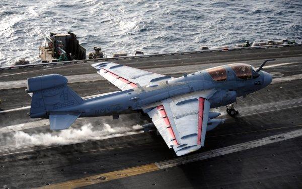 Military Northrop Grumman EA-6B Prowler Jet Fighters Northrop Grumman Navy Aircraft Warplane HD Wallpaper   Background Image