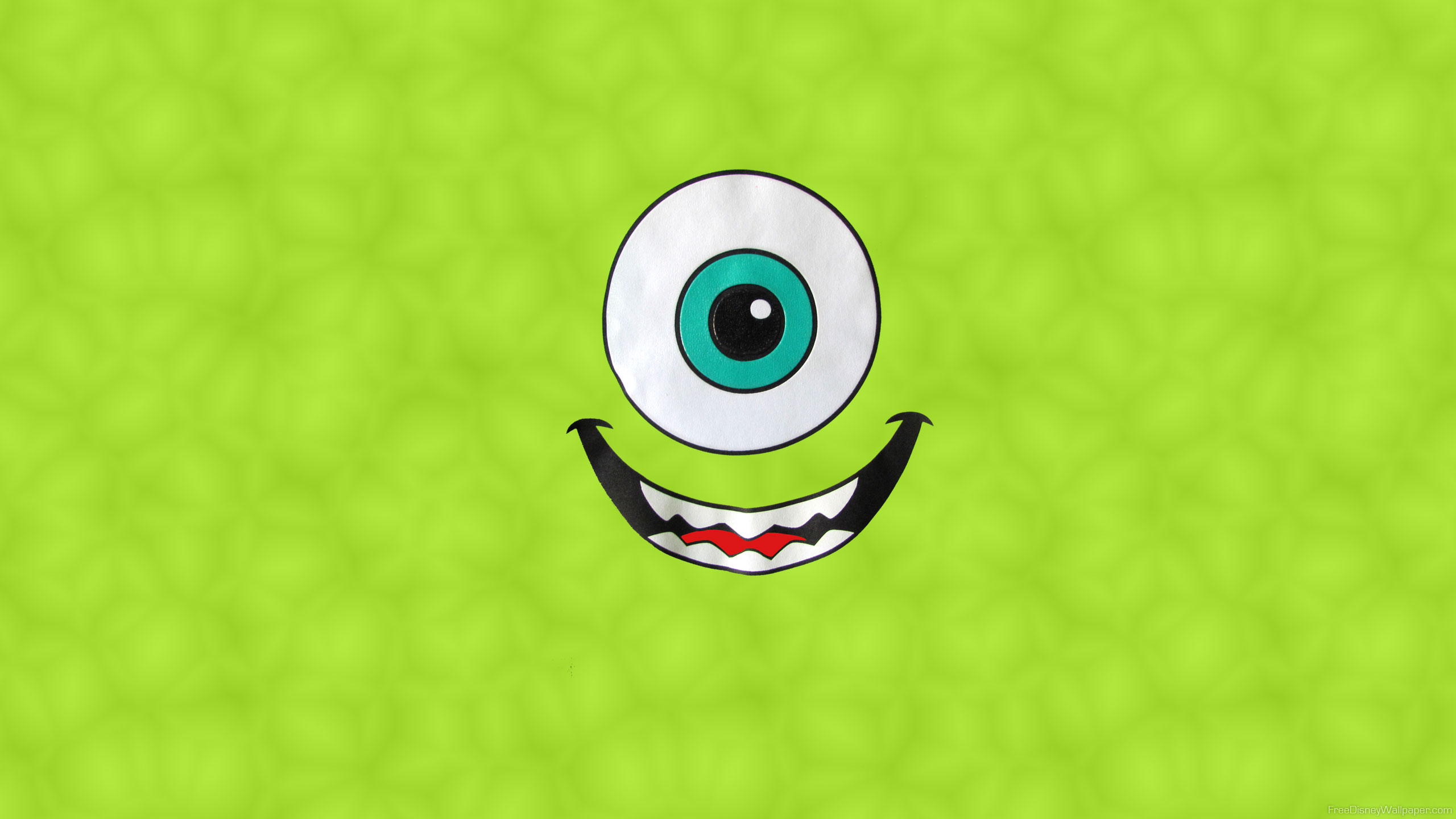 Wallpaper iphone monster university - Film Monsters University Mike Wazowski Bakgrund