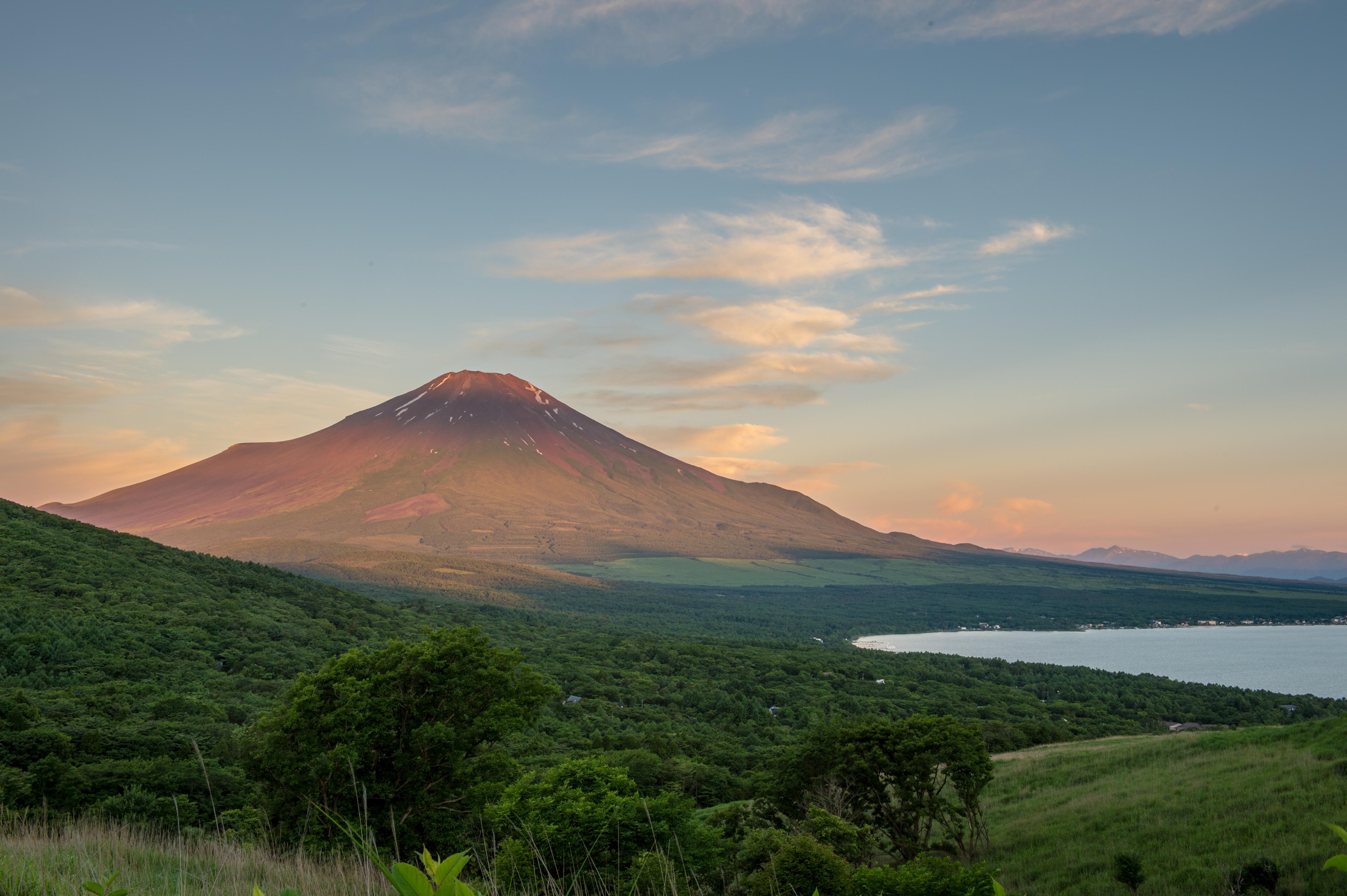 Mount Fuji 4k Ultra Hd Wallpaper Background Image