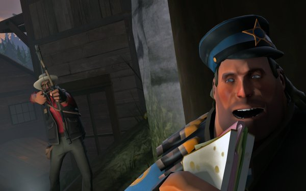 Video Game Team Fortress 2 Team Fortress Heavy Sniper HD Wallpaper | Background Image