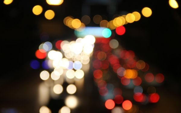 Artistic Bokeh Light Circle Blur Abstract Photography Bright HD Wallpaper | Background Image