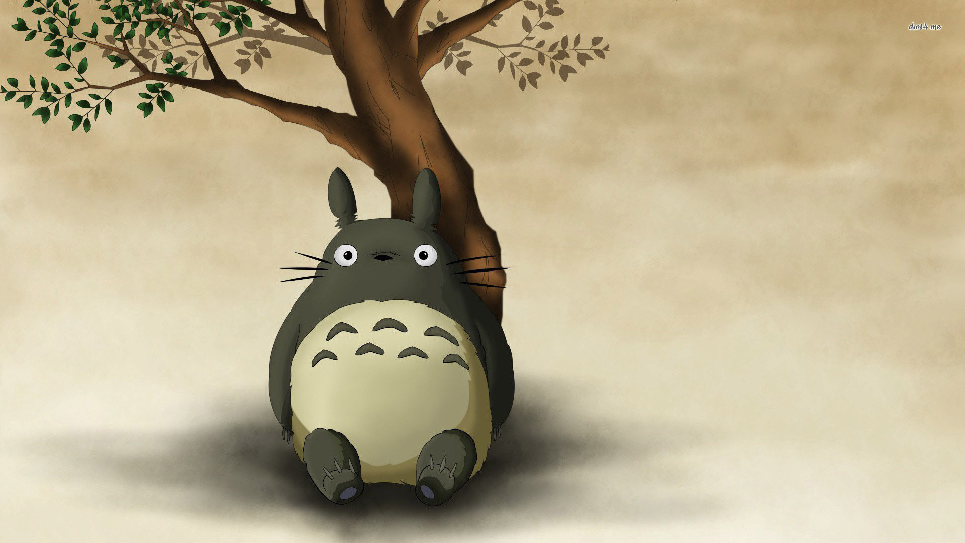 My Neighbor Totoro Full HD Bakgrund And