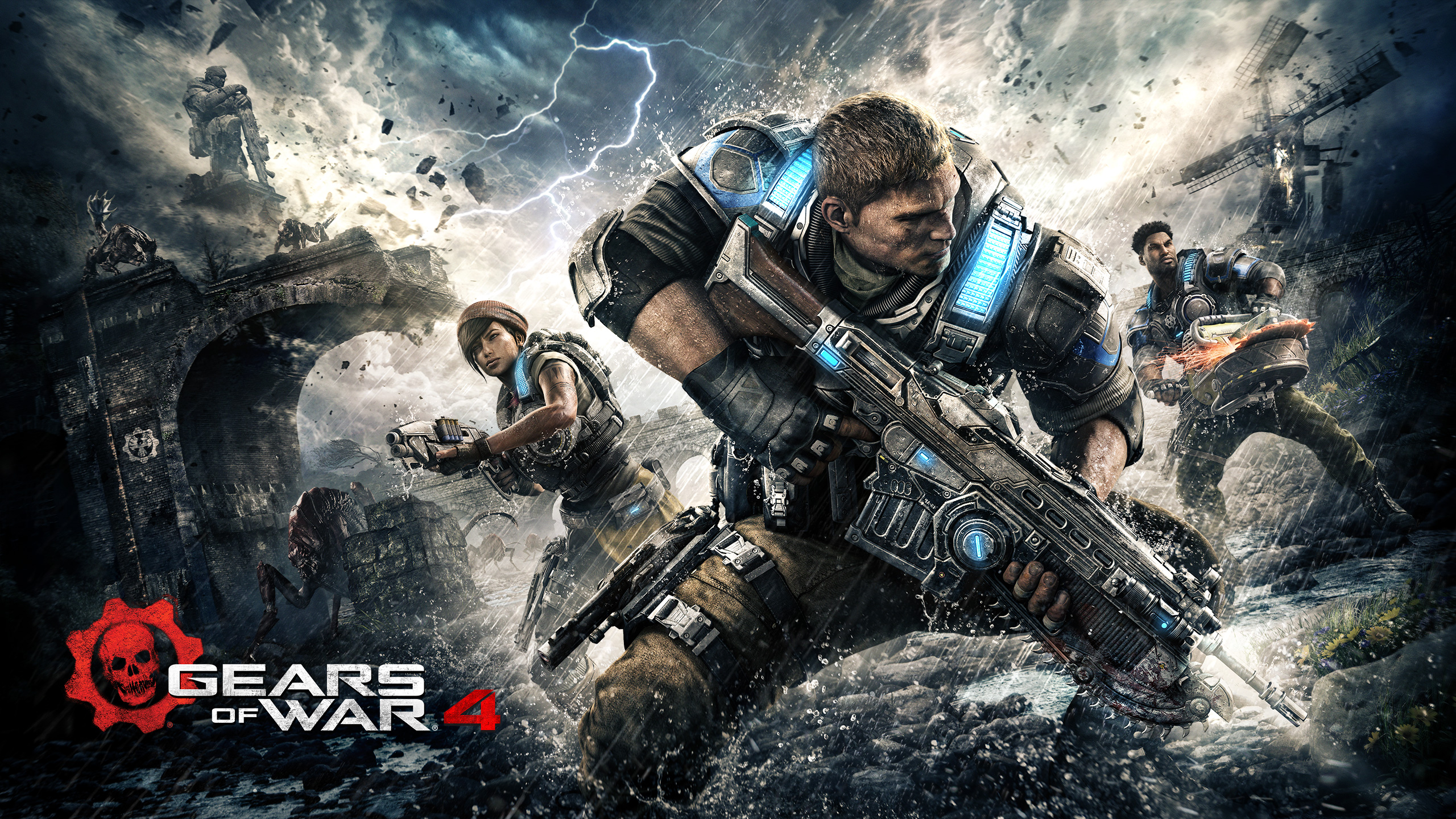 283 Gears Of War Hd Wallpapers Background Images Wallpaper Abyss
