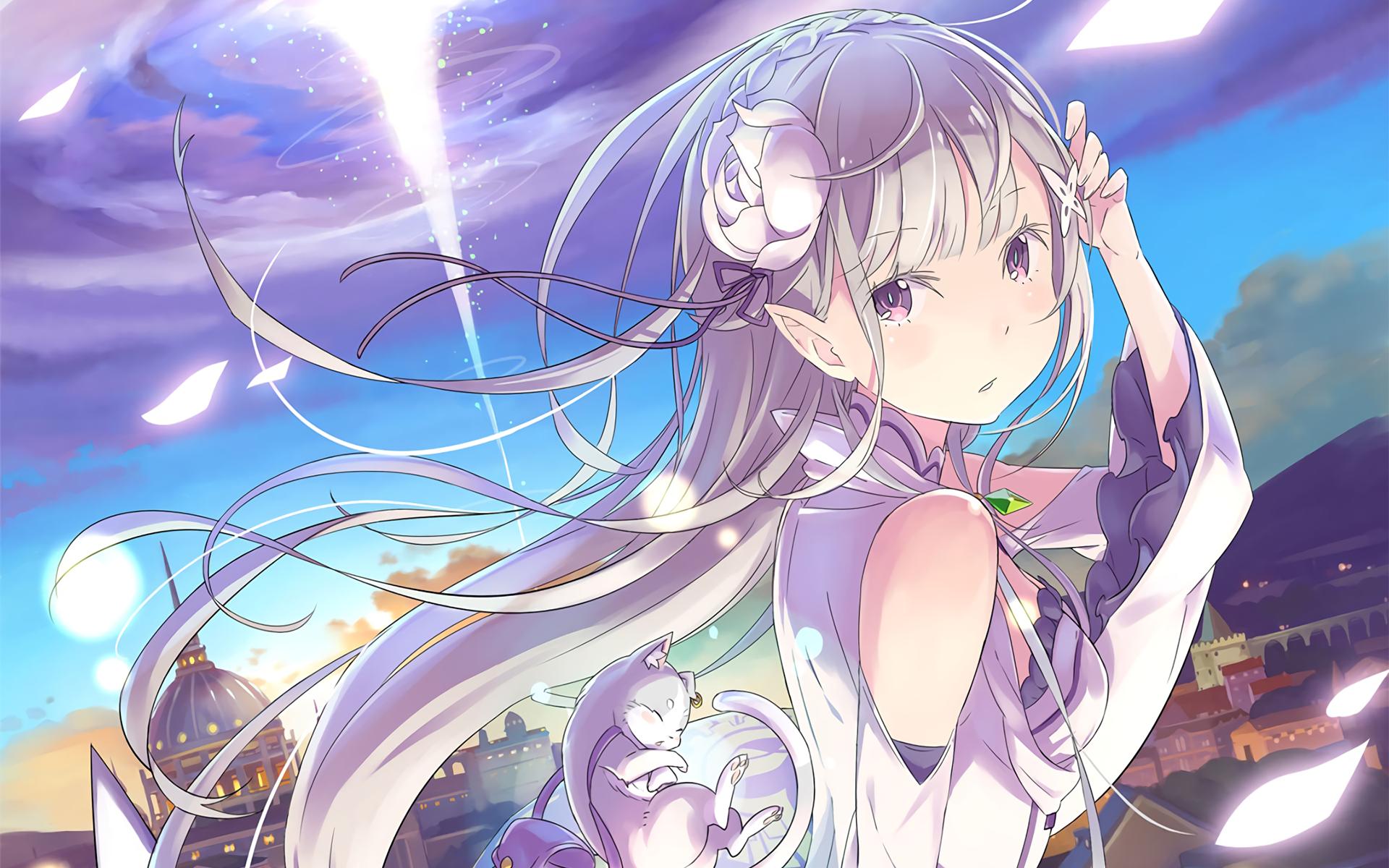 Profile Emilia [Re:Zero kara Hajimeru Isekai Seikatsu]