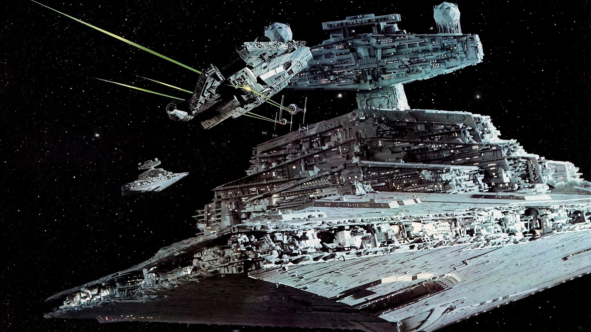 Movie - Star Wars Episode V: The Empire Strikes Back  Star Destroyer Wallpaper