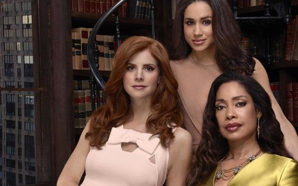 TV Show Suits Sarah Rafferty Meghan Markle Gina Torres HD Wallpaper   Background Image