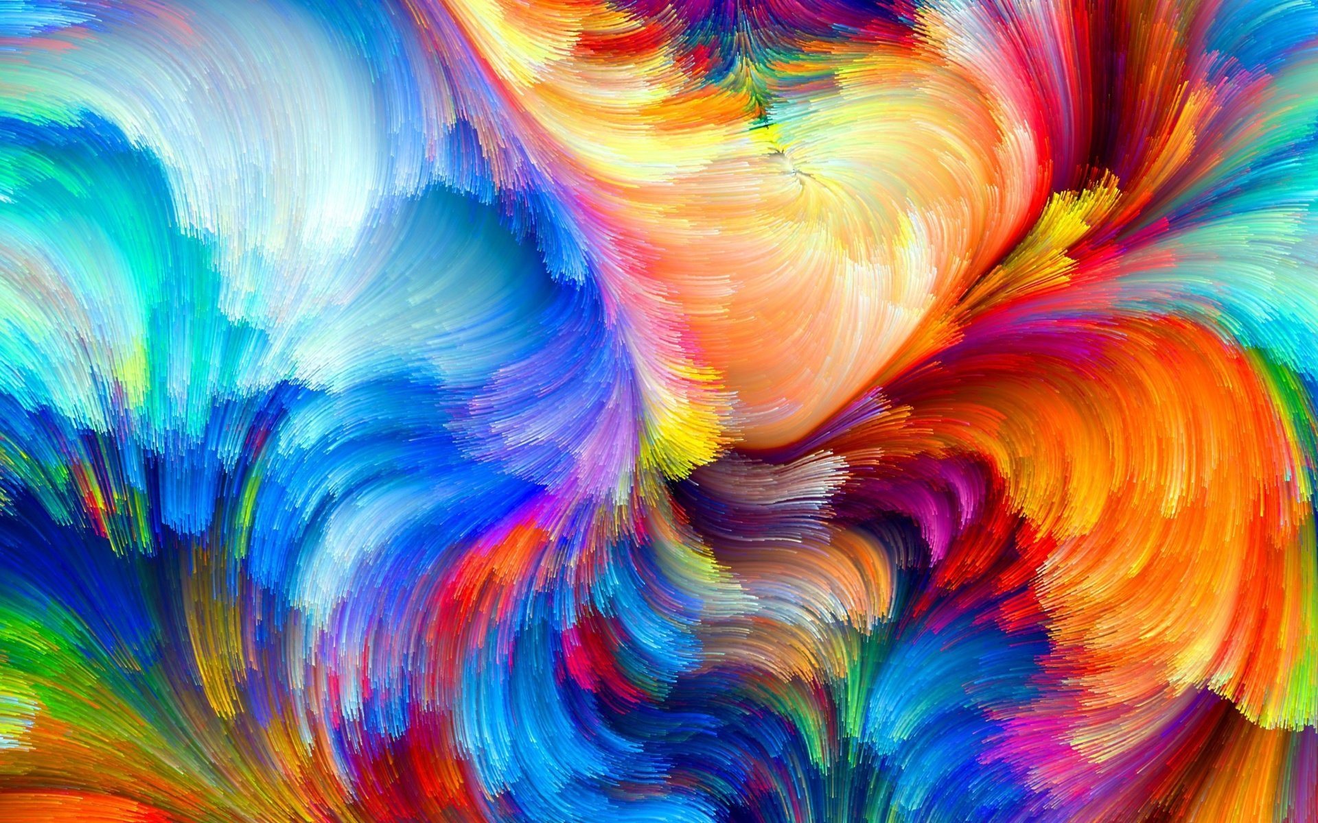 Colorful Abstract Papel De Parede HD