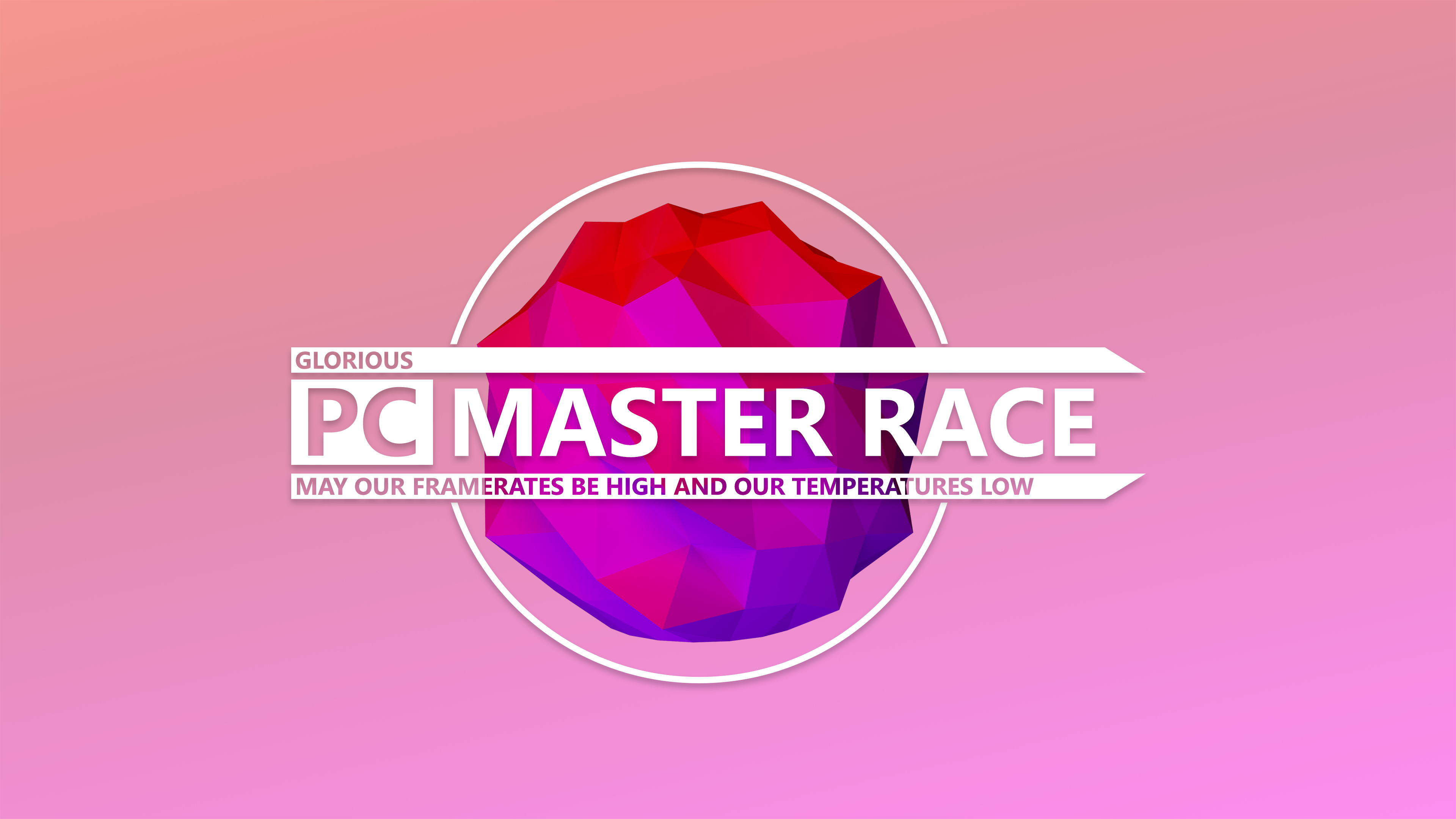 PC MASTER RACE 4k Ultra HD Wallpaper | Background Image ...