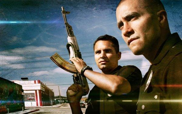 Movie End Of Watch Jake Gyllenhaal Michael Peña Cop HD Wallpaper   Background Image