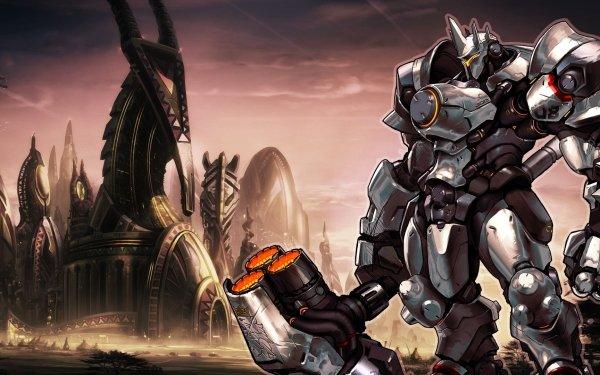Video Game Overwatch Blizzard Entertainment Reinhardt Reinhardt Wilhelm HD Wallpaper | Background Image