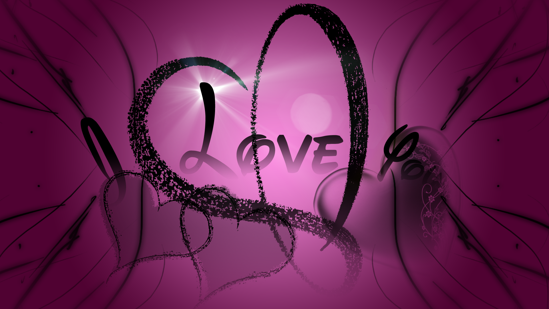 Pink And Black Wallpaper Designs 8 Background Wallpaper .