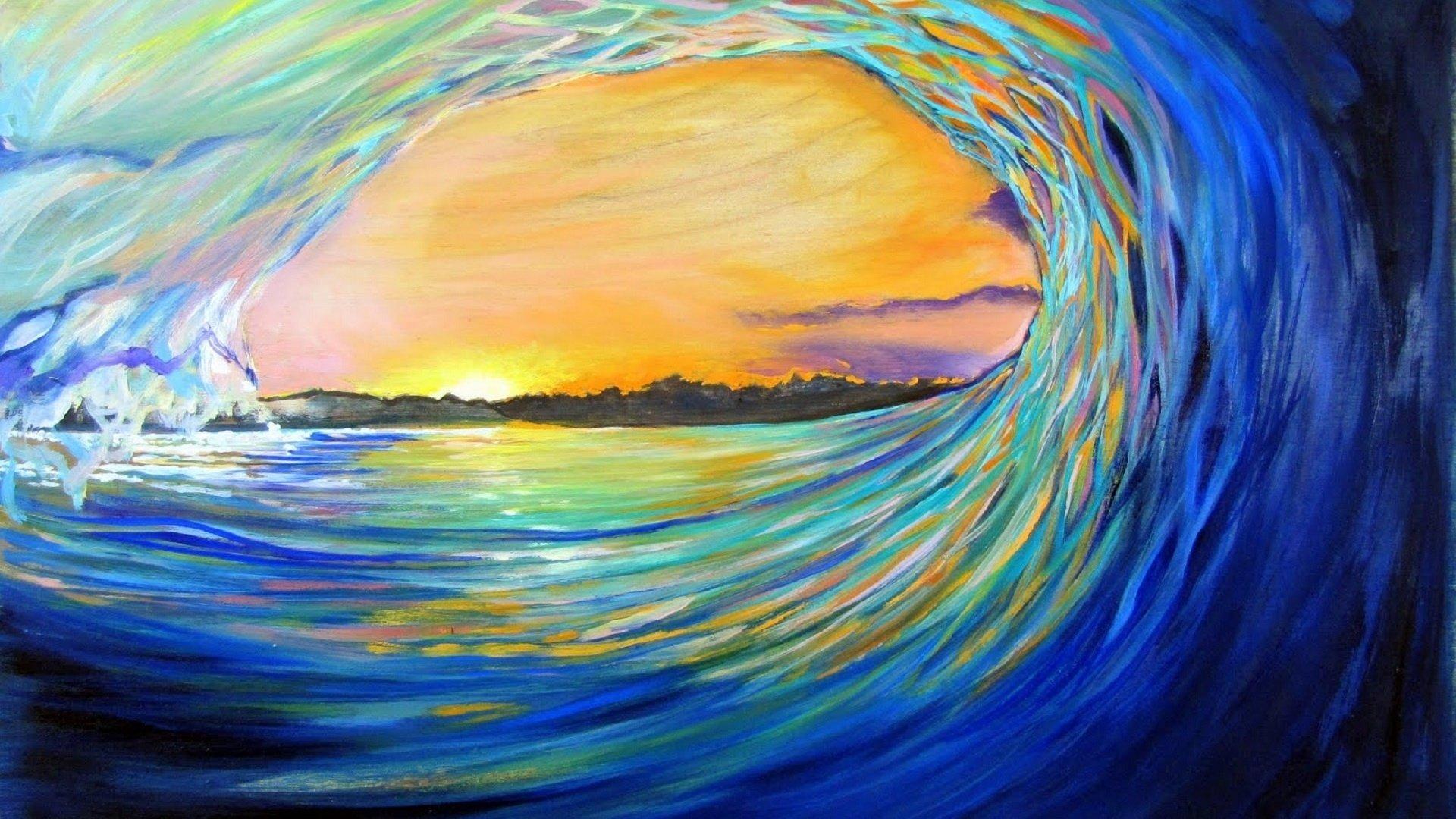 Ocean Wave Fondo De Pantalla Hd Fondo De Escritorio