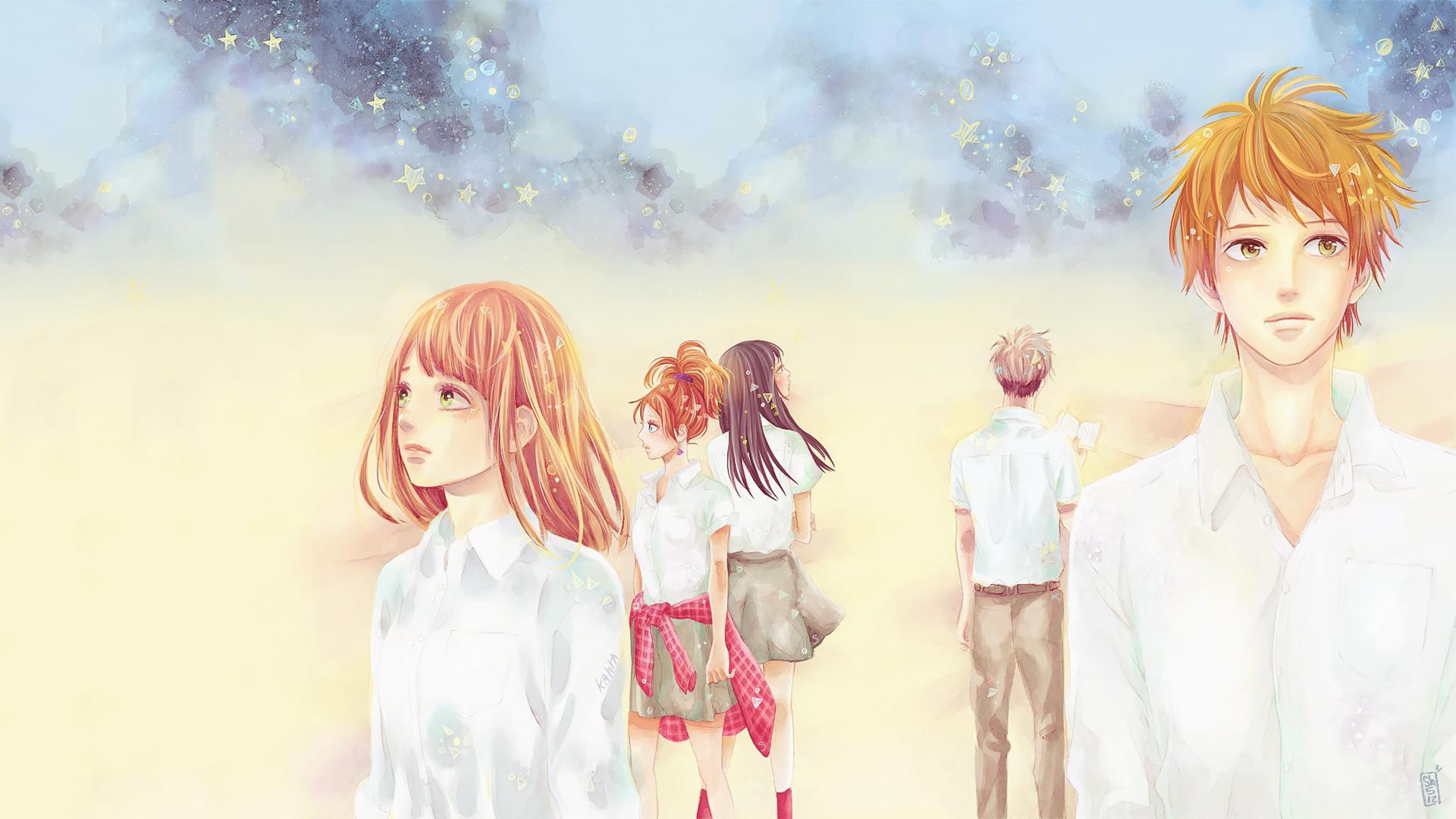 Anime - Orange  Saku Hagita Naho Takamiya Azusa Murasaka Takako Chino Hiroto Suwa Orange (Anime) Fondo de Pantalla