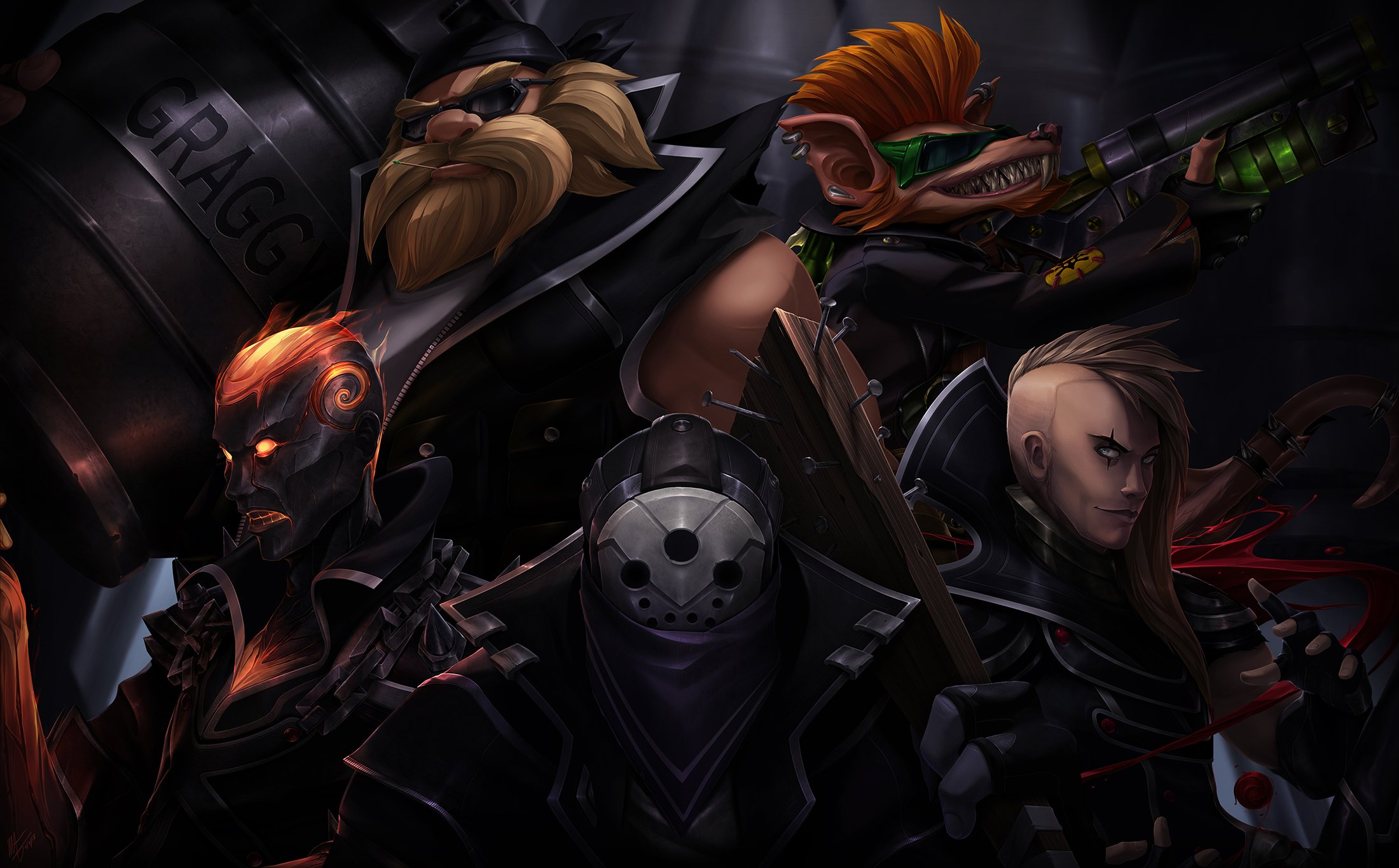 52 Jax League Of Legends Hd Wallpapers Background Images